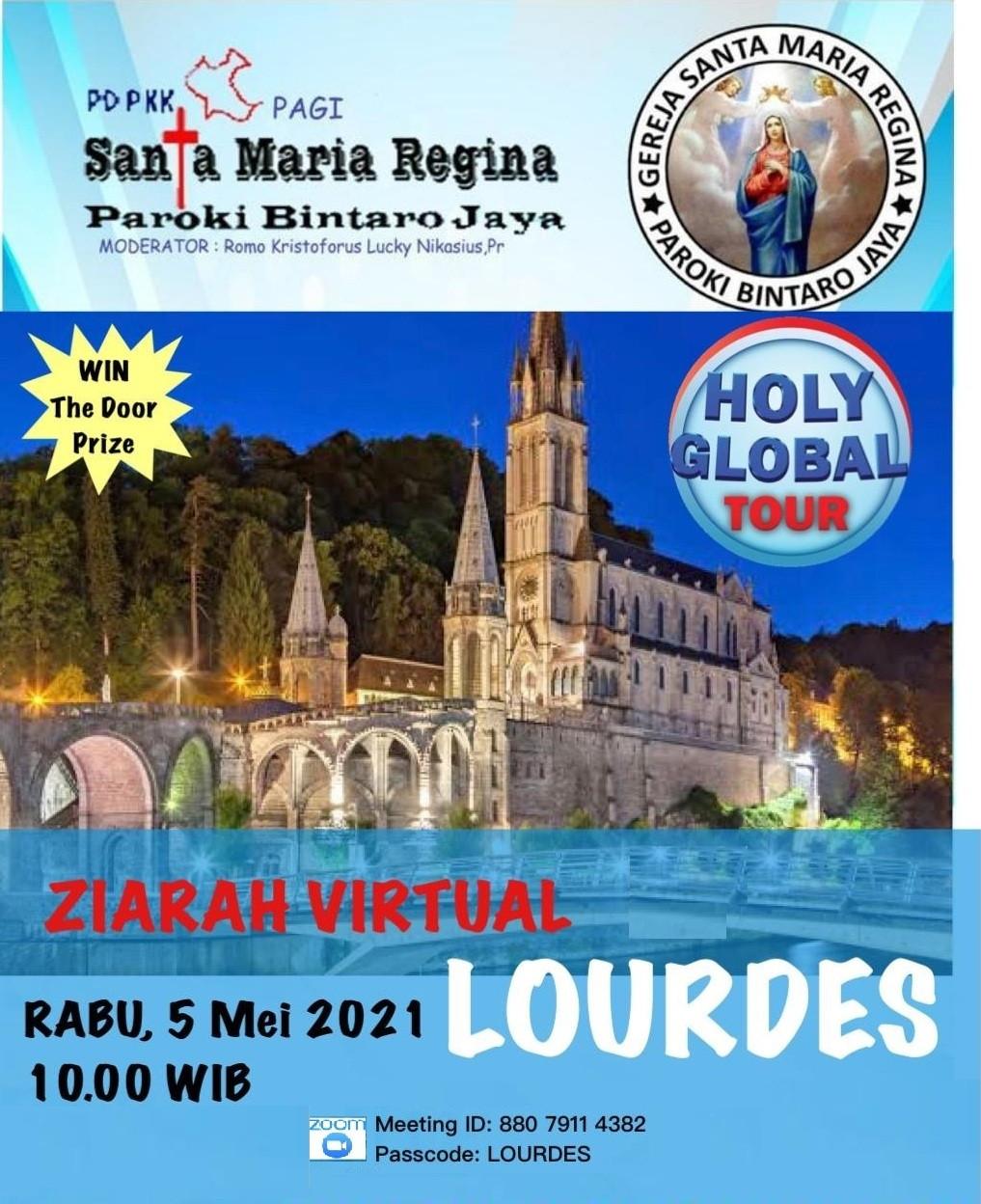 Ziarah Virtual ke Lourdes