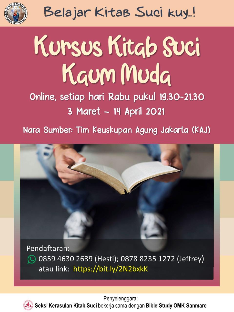 Kursus Kitab Suci Kaum Muda