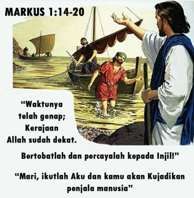 Dipanggil untuk Bertobat, Percaya, dan Mengikut Dia